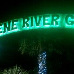 Photo taken at Gruene River Grill by Joseph G. on 12/30/2011