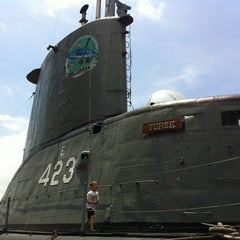 Photo taken at USS Torsk (SS-423) by Chris U. on 6/17/2012