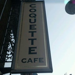 Photo taken at Coquette Cafe by H W. on 3/13/2012