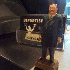 Photo taken at Bipartisan Cafe by Joshua P. on 1/19/2012