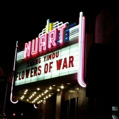 Photo taken at Nuart Theater by Jinnan L. on 12/27/2011