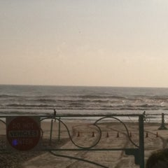 Photo taken at Lenox Beach Approach by Mary J. on 3/28/2012