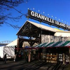Photo taken at Granville Island Public Market by Benedikt Z. on 12/30/2010