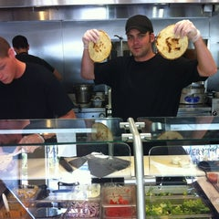 Photo taken at Souvlaki Fast by Chantelle L. on 5/6/2012