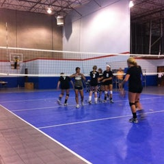Photo taken at Volleyball Institute of Plano by Neil R. on 7/21/2012