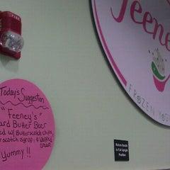 Photo taken at Feeney's Frozen Yogurt by Jessica T. on 10/15/2011