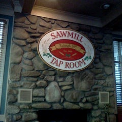 Photo taken at Sawmill Taproom by Jeff M. on 5/10/2012