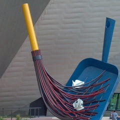 Photo taken at Denver Art Museum by Bob B. on 8/1/2012