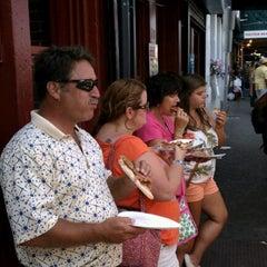 Photo taken at Haymarket Pizza by Trevor P. on 8/4/2012