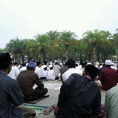 Photo taken at Masjid Jami' Al-Baitul Amien Jember by nofearbyu on 11/5/2011