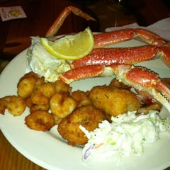 Photo taken at Captain George's Seafood Buffet by Travis P. on 11/26/2011