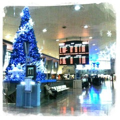 Photo taken at Gare Centrale by jaclyn t. on 12/4/2011