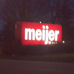 Photo taken at Meijer by Greg H. on 12/21/2011