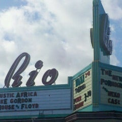 Photo taken at Rio Theatre by Matthew R. on 3/9/2011