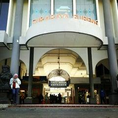 Photo taken at Stasiun Surabaya Gubeng by Ario W. on 7/28/2012