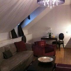 Photo taken at The Mark Luxury Hotel Prague by Annalisa D. on 6/11/2012