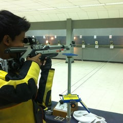 Photo taken at Perbakin Shooting Range by Tian-Pao A. on 3/17/2012