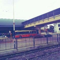 Photo taken at Estación Moreno [Línea Sarmiento] by Bra A. on 2/20/2012