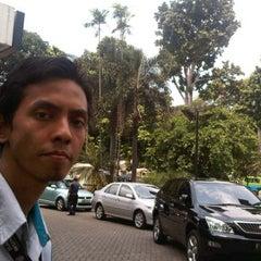 Photo taken at Bank Mandiri Juanda by Muhammad N. on 10/18/2011