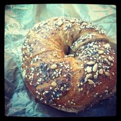 Photo taken at Brooklyn Bagel & Coffee Company by Frankie F. on 7/17/2012