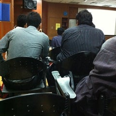 Photo taken at Lecture Hall 2, KOM by Ahmad Asyraf on 1/10/2011