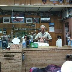 Photo taken at Sigfrido Barber Shop by John M. on 6/11/2011