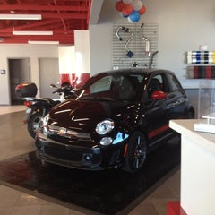 Photo taken at Rairdon's FIAT of Kirkland by Aleece K. on 9/3/2012
