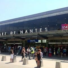 Photo taken at Gare SNCF de Nantes by MikaelDorian on 7/1/2011