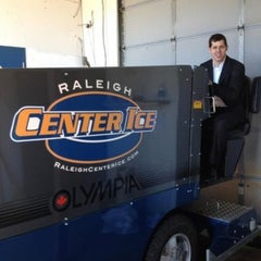 Photo taken at Raleigh Center Ice by Tony P. on 1/8/2012