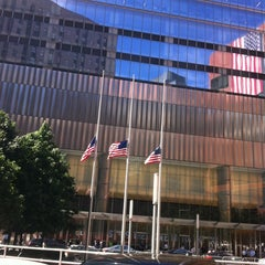 Photo taken at 7 World Trade Center by Bander A. on 9/11/2012