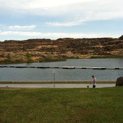 Photo taken at Dierkes Lake by Desiree K. on 7/30/2011