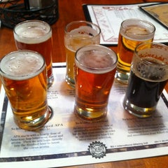Photo taken at Schlafly Bottleworks by Jeff F. on 2/18/2012