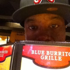 Photo taken at Blue Burrito Grille by Lucky C. on 9/9/2012