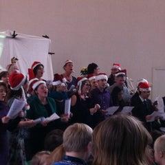 Photo taken at Bernardusschool by iPhone W. on 12/22/2011