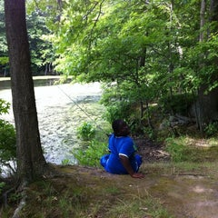 Photo taken at Wolfe's Pond Park by Anthony G. on 8/3/2011