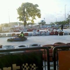 Photo taken at GKI Kart by Léo M. on 1/24/2012