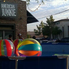 Photo taken at American Junkie by joseph a. on 9/5/2011