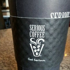 Photo taken at Serious Coffee by Scott W. on 8/20/2011