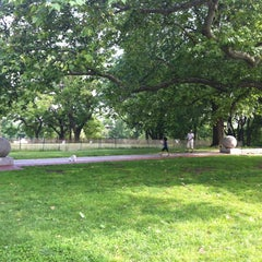 Photo taken at Fort Greene Park by Robby S. on 6/9/2012
