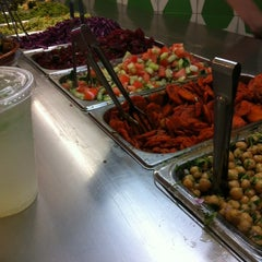 Photo taken at Maoz Vegetarian by Lauren K. on 6/9/2012
