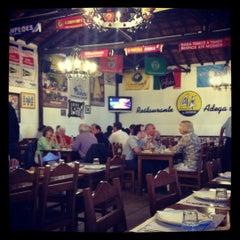 Photo taken at Adega da Marina by Nick H. on 5/18/2012