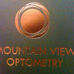 Photo taken at Mountainview optometry by Capt'n Andrew D. on 5/10/2012