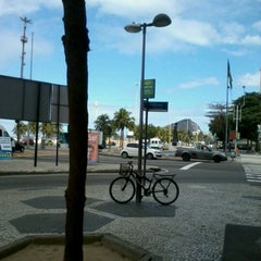 Photo taken at BikeRio - Estação 05 by Bruna B. on 8/18/2012