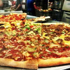 Photo taken at Ian's Pizza by Nan T. on 5/27/2012
