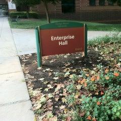 Photo taken at Enterprise Hall - George Mason University by Rick J. on 9/7/2012
