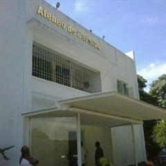 Photo taken at Ateneo de Caracas by Alvaro Omar M. on 3/12/2012