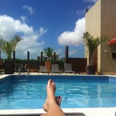 Photo taken at Praia Centro Hotel Fortaleza by Ana Paula N. on 5/20/2012