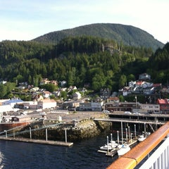 Photo taken at Ketchikan, Alaska Pier One by Sandy G. on 6/22/2012