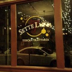 Photo taken at Sette Luna by José L. on 2/5/2012