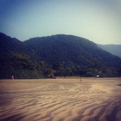 Photo taken at Praia Dura by Julia G. on 9/8/2012